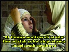Ibu Madrasah bagi Anak-anaknya
